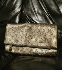 Paris Hilton pismo torba metalik