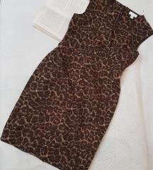 * Animal print haljina *