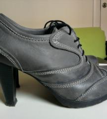 Stefano kožne cipele na štiklu SNIŽENO