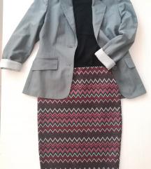 BOHO style suknja / sako/ majica