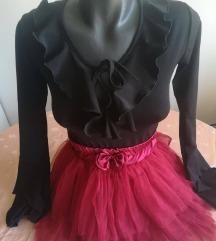 Crvena tutu suknja