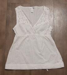 Prelepa pamučna H&M bela košulja, 38, NOVO