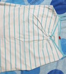 Majica Plavo bela