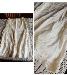 Bela duga suknja M