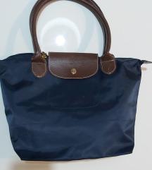 Longchamp teget torba SNIZENO