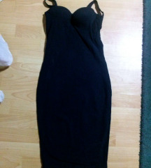Crna push up haljina