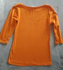 Zara zuta rebrasta majica