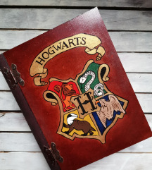 Hogwarts kutija u obliku knjige