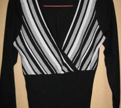 Kratka bluza na preklop