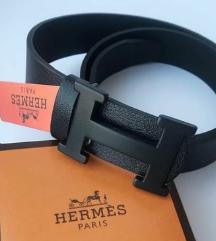 HERMES black - 100% koža