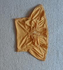 Žuta letnja haljinica