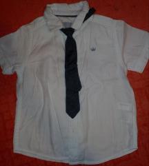 Kosulja za decaka sa kravatom 92/98