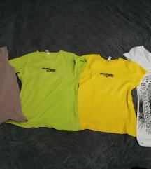 Poklanjam 4 majice S/M