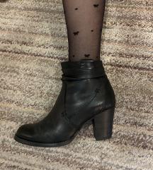 Leather cizme 37