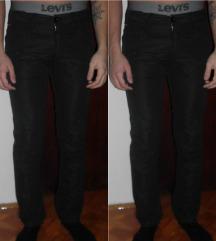 Hugo Boss Orange crne pantalone/slim fit