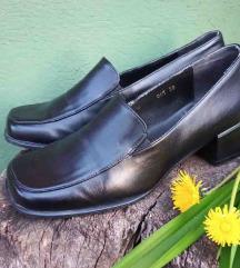 Kozne cipele sa nizom sirom petom