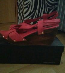 Crvene sandale na platformu 40/41