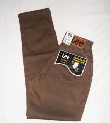 Lee virginia SATEEN COCOA jeans visokog struka