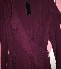 🌸RESERVED kosulja-haljina sa karnerima🌸 NOVO
