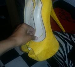 Zute sandale