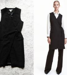 H&M prsluk/haljina na preklop-NOVO