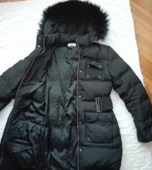 TODOR jakna, perje i prirodno krzno