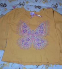 Bluzica za devojcice senf-zuta br.110 ili 5 god
