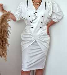 Vintage bela haljina