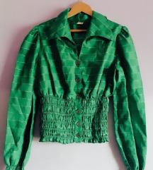 Vintidž zelena košulja
