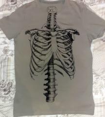skeleton majica XL L