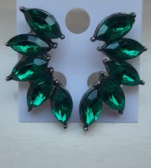 Zelene mindjuse sa kristalima NOVO