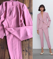 ZARA pastelno pink NOVE pantalone %%%
