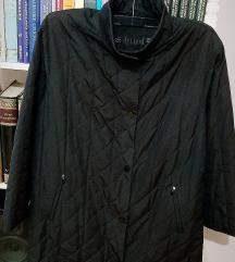 Crna dugacka jakna nova