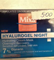 Mixa Hyalurogel night noćna krema - NOVO