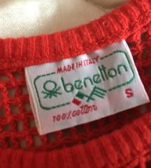 Benetton crveni top ♥️