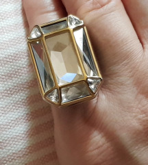 Swarovski jedinstven prsten, original