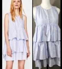 ZARA ruffled haljina/tunika