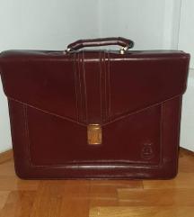 Kožna poslovna torba