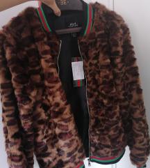 Novo! Sa etiketom Leopard bundica S