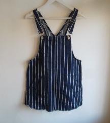 Pull&Bear kombinezon/haljina na pruge, 38