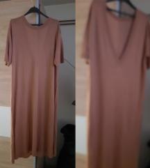 💝HiM camel midi casual haljina 💝