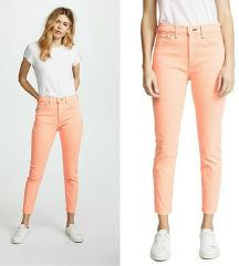 **VERO MODA Jeans neon narandzaste 40**