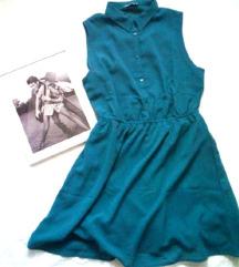 Tirkiz haljina / Terranova / NOVO