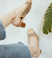 Vintage mrezaste sandale 38