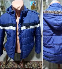 Plava jakna za dečaka