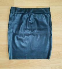 Nova crna suknja od skaja