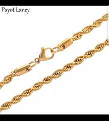 Zlatni lančić nerđajući čelik
