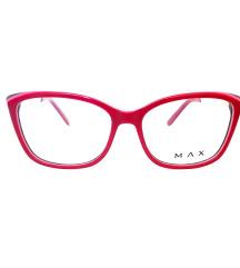 Zenske dioptrijske naocare- Max crvene