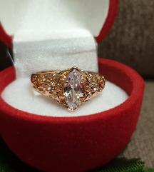 prsten rose gold