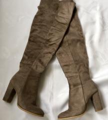 Antilop čizme na štiklu preko kolena